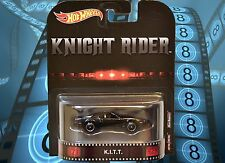 2017 HOTWHEELS RETRO ENTERTAINMENT KNIGHT RIDER KITT MINT VHTF BRAND NEW