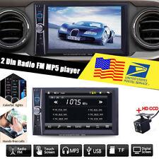 7 inch  2 Din Car Stereo MP5 Player in-dash unit  FM Bluetooth USB/AUX + Camera
