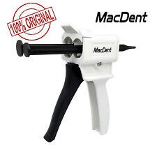 Macdent 1121 Ratio Dental Impression Mixing Dispenser Dispensing Gun 50ml