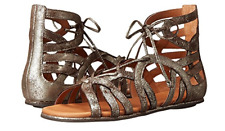 Gentle Souls Break My Heart 3 Dark Brown Gladiator Sandal Women's sizes 6-11/NEW