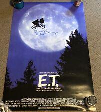 Henry Thomas - E.T. - RARE SIGNED Elliot Full Size Poster 27x40 - K9 Holo Proof