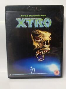 XTRO rare Second Sight UK BLU-RAY cult 80s British sci-fi horror region free