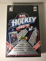 1990-91 Upper Deck NHL Cards - HIGH SERIES - Factory Sealed Boxes