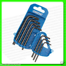 Draper 7 Piece Torx / TX Star Key Set In A Plastic Storage Holder [33738]