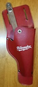 milwakee TOOL Holsters Top Grain leather Buckle Drill Leather Craft