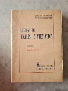 LEZIONI DI ANALISI MATEMATICA di ANTONIO PIGNEDOLI