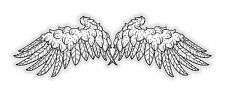 Wings Sticker for Laptop Helmet Bumper Fridge Door Locker #02