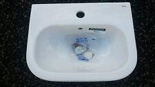 roca nexo 450mm×365mm white 1 tap hole basin