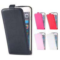 Vintage Luxury Real Leather Case New Flip Pouch Magnetic Cover for Apple iPhone