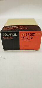 Polaroid Land Roll Film pack Color  75 Speed Type 48 Exp Feb 1969