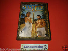 EGYPTE III 3 LE DESTIN DE RAMSES EDITION COLLECTOR PC DVD-ROM PAL