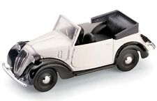 BRUMM R83 FIAT 508C 1100 cabriolet HP32 diecast  car white body 1937 1:43