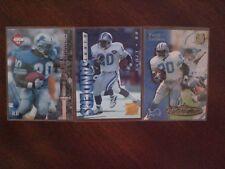Barry Sanders Detroit Lion 3x Card Assortment Collectors Edge 1995