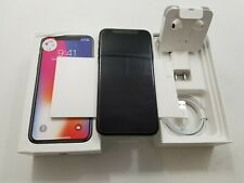Open Box Apple iPhone X A1865 Unlocked 256GB Clean IMEI -AT139
