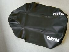 Motorcycle seat cover - 1998 Yamaha DT175 in black