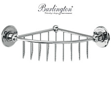 Burlington Bathrooms Deep Corner Basket    A22CHR