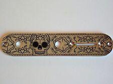 """Fender Telecaster® Chrome Control Plate - 2124 Customs """"Sugar """""""