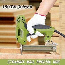 Electric Nailer Straight Nail Framing Finishing Woodworking Air Hand Tool 220V