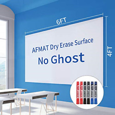 Dry Erase Whiteboard Paper, Large White Board Stickers for Wall, 6x4ft Dry Erase