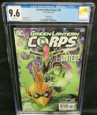Green Lantern Corps #62 (2011) Manapul Variant CGC 9.6 White Pages F429