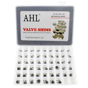 9.48mm Valve Shim 52Pcs 1.2 mm to 4.0 mm for Honda CRF450X TRX450R Yamaha YFZ450