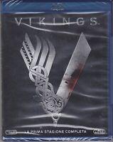 3 Blu-ray Box Cofanetto VIKINGS 01 - PRIMA STAGIONE completa nuovo sigillato
