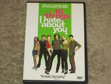 10 Things I Hate About You (DVD, 1999) Heath Ledger, Julia Stiles