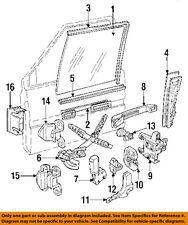 VOLVO OEM 91-95 940 Front Door-Rear Guide Right 3503962