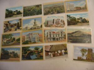 25 Older Panama Postcard Lot