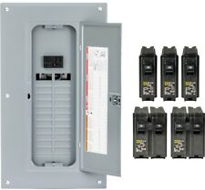 Main Breaker 100 Amp 24-Space 48-Circuit Plug-On Load Center Single Phase