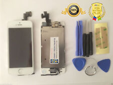 For iPhone 5S White Assembled Genuine OEM LCD Digitizer Screen Replacement Touch