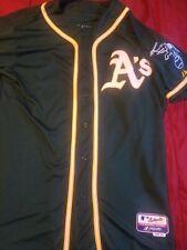 Majestic OAKLAND A's ATHLETICS Jersey Size 48 Men's