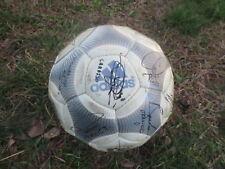 Ballon de match OM MARSEILLE ADIDAS TERRESTRA CLub Pro vintage ball signé rare