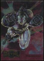 1995 Marvel Metal Blaster Trading Card #17 War Machine