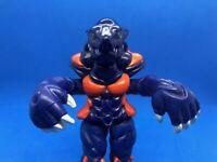 "Vintage  Power Rangers Dramole 5"" Figure Evil Space Alien Blue Mole Bandai 1994"