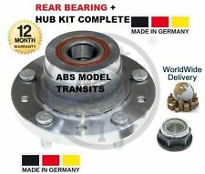 FOR FORD TRANSIT TOURNEO TDCi VAN BUS WITH ABS 2006> REAR WHEEL BEARING HUB KIT