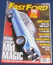 FASTFORD MAGAZINE FEBRUARY 1996 - FIESTA VERSUS ESCORT DYNO