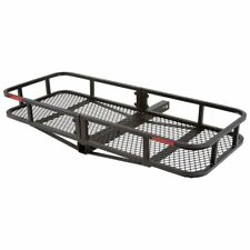 "48"" Steel Basket Cargo Carrier Hitch-Mount Luggage Rack"