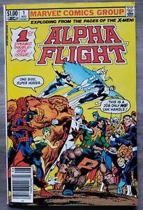Alpha Flight #1 NM 1st Puck, Marrina