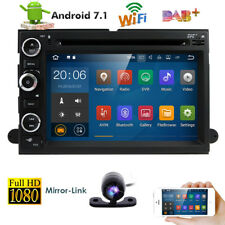 "7"" Android 2GB HD Car Stereo GPS Navigation Bluetooth DVD Player Radio For Ford"