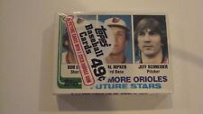 1982 TOPPS FACTORY SEALED CELLO PACK CAL RIPKEN JR. ROOKIE ON TOP
