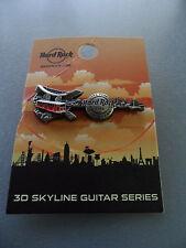 Hard Rock Cafe Hong Kong The Piek - 3D Skyline - Guitar Pin on Card ( LE100 )