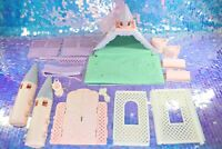 Lady Lovely Locks CASTLE LovelyLocks Playset Replacement Parts Vintage D980
