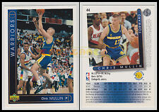 NBA UPPER DECK 1993/94 - Chris Mullin # 44 - Warriors - Ita/Eng - MINT