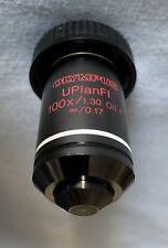Olympus UIS Microscopio objetivo – UPlanFL aceite 100x P