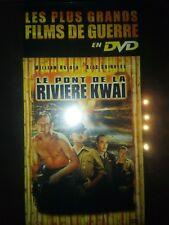 DVD LE PONT DE LA RIVIERE KWAI de DAVID LEAN avec WILLIAM HOLDEN, ALEC GUINNESS.