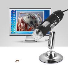 1000x Digital Mikroskop Lupe Fach Endoskop USB Microscope Kamera Video PC + 8LED