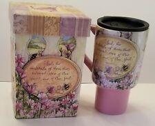Lang Heart And Soul Inspirational Travel Mug Lidded  Shelly Reeves Smith NIB