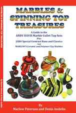 """MARBLES & SPINNING TOP TREASURES"" BOOK ON JABO MARBLES & ANDY DAVIS TOPS NICE!"