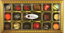 POPPYS CHOCOLATE GIFT BOX 18 GOURMET CHOCOLATES AND TRUFFLES
